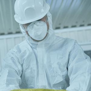 Health worker wearing PPE | Eco Bear